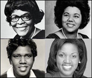 African-American congresswomen.