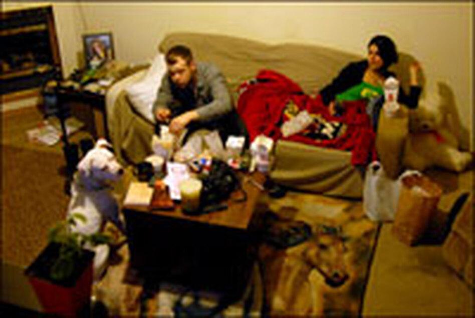 Munira Shahamorad and her husband, Steve Campbell, are struggling to make ends meet.