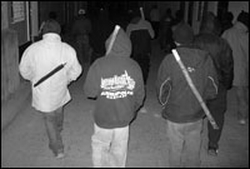 Night patrollers in San Juan Sacatepequez, Guatemala, say their rounds have chased away the gang members.
