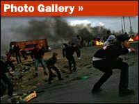 Israel Attacks Targets In Gaza