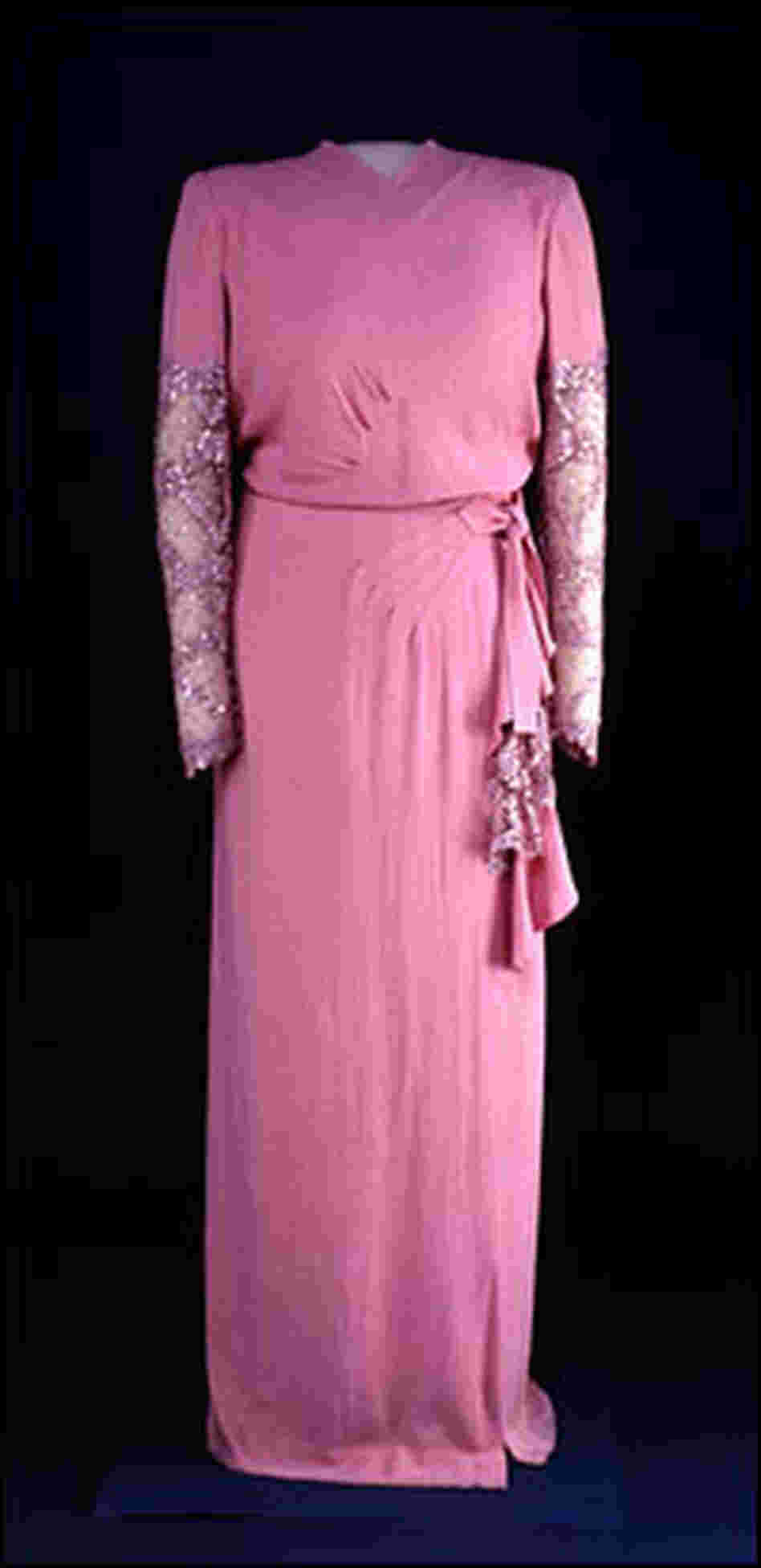 Eleanor Roosevelt's 1945 inaugural reception gown.