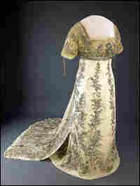 Helen Taft's 1909 inaugural ball gown.