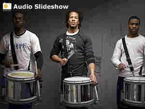Howard University band rehearsal slideshow