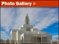 Photo Gallery of Draper Temple