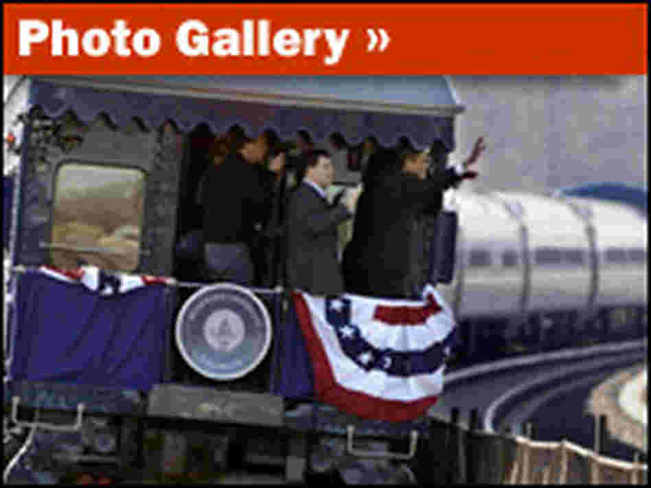 Slideshow: Obama's Whistle-Stop Train Tour