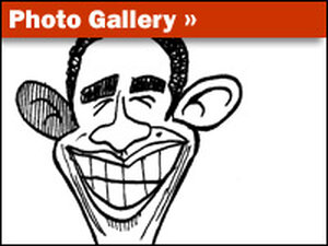 Photo Gallery: Caricatures Of Obama