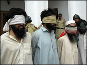 Security forces seize suspected Taliban militants in Lower Dir.