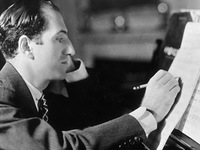 "George Gershwin composes ""Porgy and Bess"""