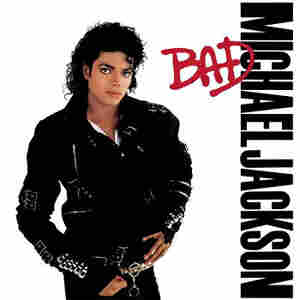 Cover To Michael Jackson's album Bad