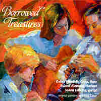 "Cover for ""Borrowed Treasures"""