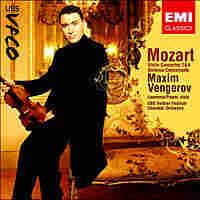 Cover for Vengerov's Mozart