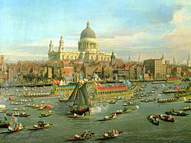 Handel, 'Water Music' (Getty Images/The Bridgeman Art Library)