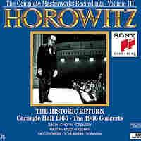 Album cover art for Horowitz 1965 return