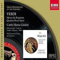 Cover art for Verdi Requiem