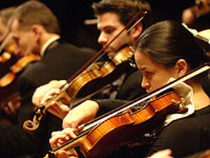 Boston Philharmonic String section