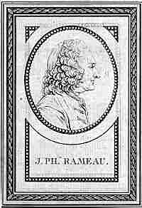 French composer Jean-Philippe Rameau (1683-1764)