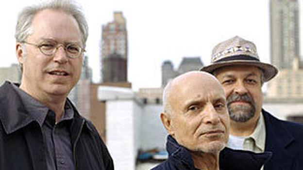 Paul Motian, Bill Frisell, Joe Lovano.
