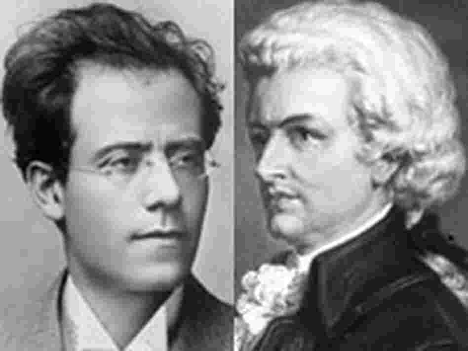 Mahler (1860-1911) and Mozart (1756-1791)