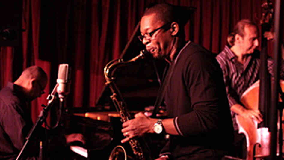 Ravi Coltrane and his band.