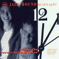 Cover for Jazz 'Round Midnight: Dinah Washington