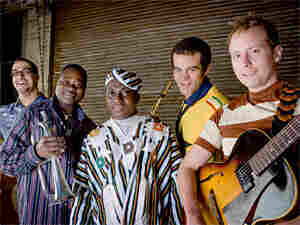 Occidental Brothers Dance Band International, group shot