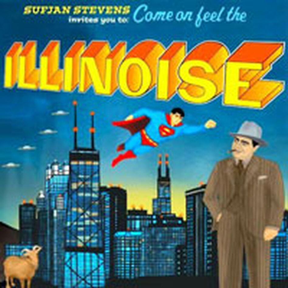 Sufjan Stevens CD art