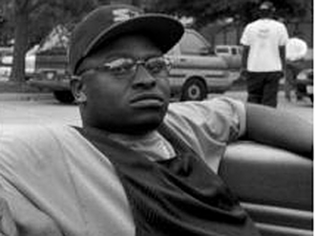 Scarface relaxing in his hometown, Houston,  in early '94.