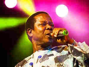King Sunny Ade Performs