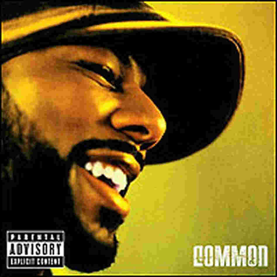 Rapper Common on the cover of his CD, 'Be'
