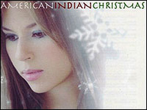 Jana from the cover of 'American Indian Christmas'