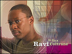 Ravi Coltrane on the cover of his new CD.