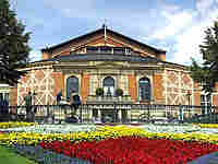 Wagner's opera house in Bayreuth, Germany