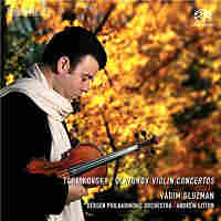 Cover for Tchaikovsky, Glazunov: Violin Concertos