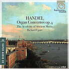 Cover for Handel Organ Concertos Op. 4