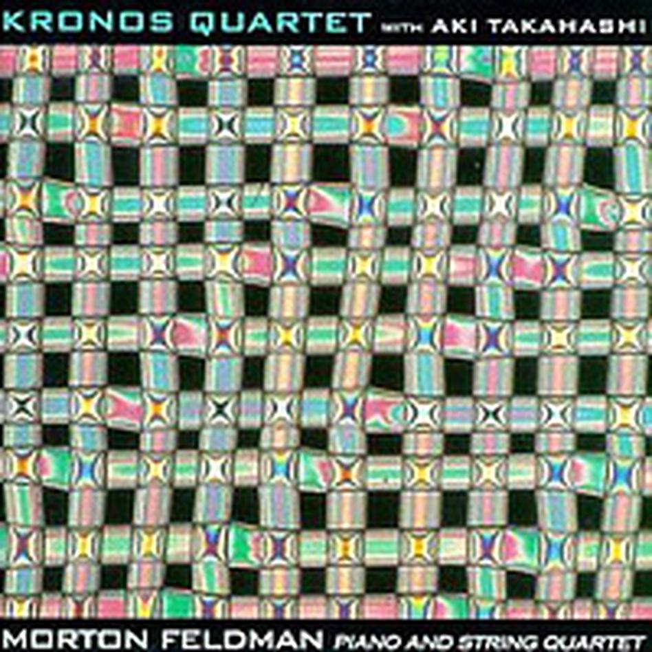 Cover for Morton Feldman: Piano and String Quartet