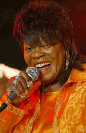 Koko Taylor, here performing in 2005, died Wednesday at the age of 80.
