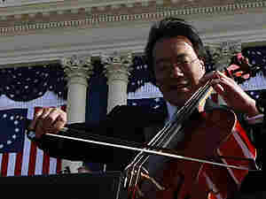 Yo-Yo Ma at the inauguration