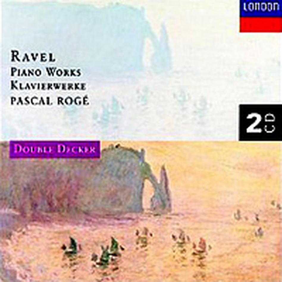 Cover for Ravel: Piano Works
