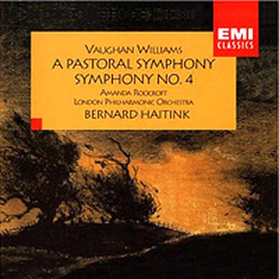 Cover for Vaughan Williams: A Pastoral Symphony / Symphony No.4