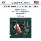 Cover for Louis Moreau Gottschalk: Piano Music