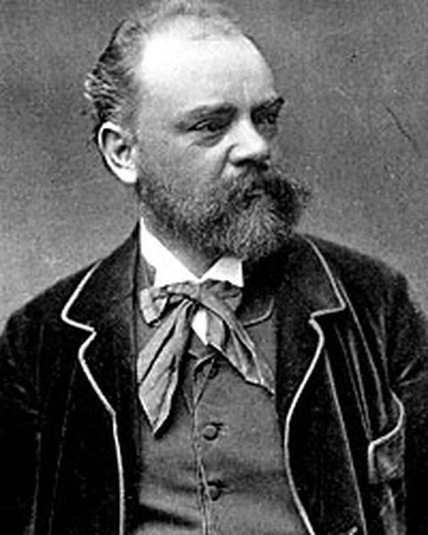 "Czech composer Antonin Dvorak crossed the Atlantic in September 1892 to direct the National Conservatory of Music in New York. During his stay, he composed the ""New World"" Symphony. (Getty Images)"