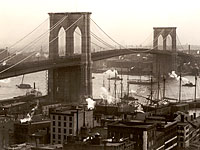 The Brooklyn Bridge, 1898
