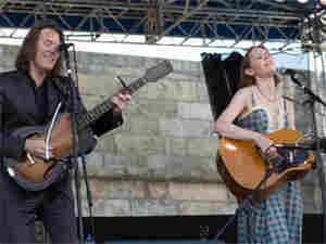 Gillian Welch and David Rawlings at Newport Folk Festival (300)
