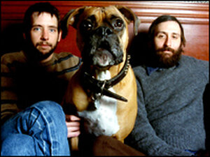 Band of Horses, with dog.