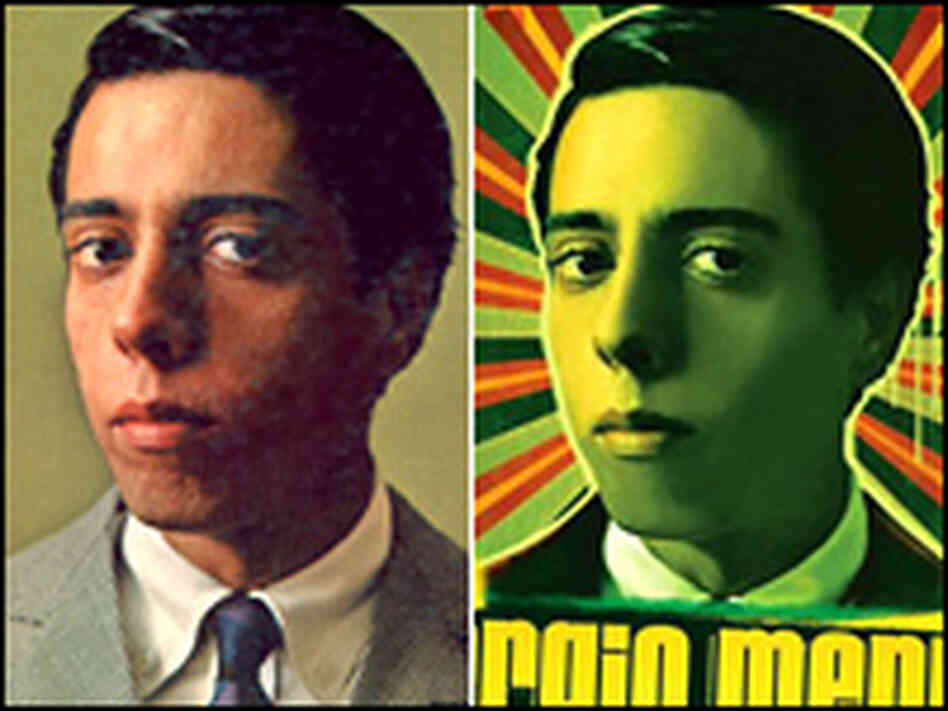 Sergio Mendes on the cover of 'The Swinger from Rio', left, and his new 'Timeless'