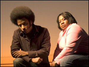 The Coup's Boots Riley and Pam the Funkstress.