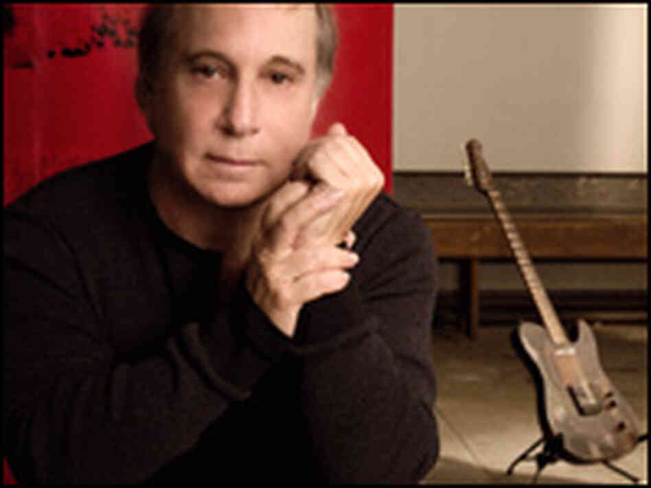 Venerable singer-songwriter Paul Simon.