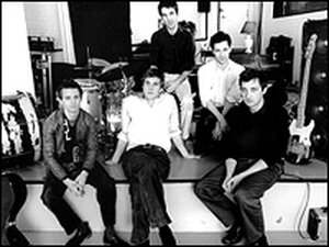 """The Walkmen, mixing introspection and raging rock on a cover of Mazarin's """"Another One Goes By."""""""