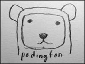 The only known image of the artist currently known as Podington Bear.