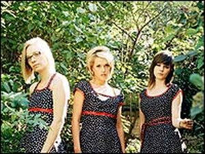 """The Pipettes' members throw the word """"love"""" around like so much confetti."""